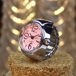 Women Finger Ring Watch