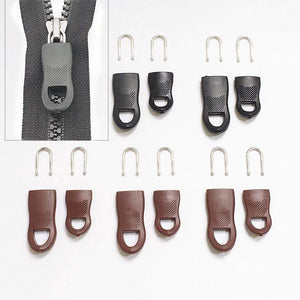 Zippers Universal Zipper Puller Kit [5 Pcs] Brown Kit [5Pcs Set] - DiyosWorld