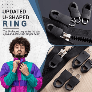Zippers Universal Zipper Puller Kit [5 Pcs] - DiyosWorld