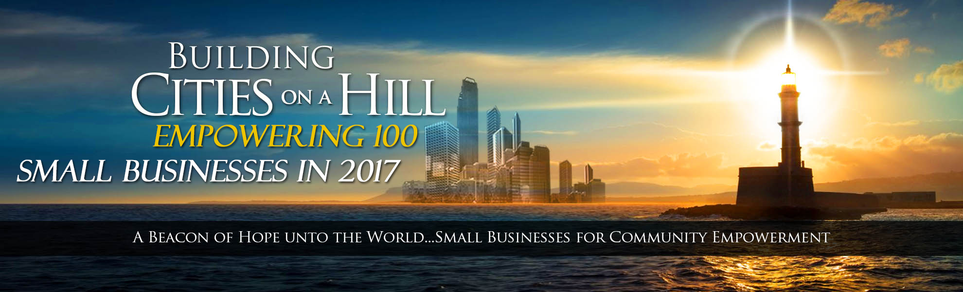 Building Cities upon a Hill (100 in 2017)