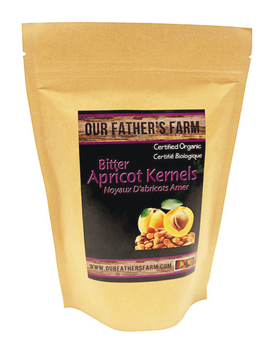 Our Father's Farm Certified Organic Bitter Raw Apricot Kernels