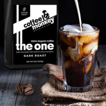 Coffee Monkey Cold Brew - Medium Roast - Premium Certified Organic Whole Bean
