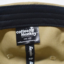 """Sienna"" Coffee Monkey Culture Gear Leather Patch 6-Panel Hat"