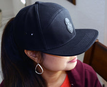 """Obsidian"" Coffee Monkey Culture Gear Premium Snapback 7-Panel Hat"