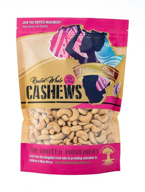 Roasted Whole Cashews with Sea Salt – 1 lbs.
