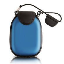 Hard Blue EVA Case with Carrying Strap