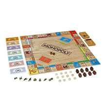Monopoly Rustic Series Special Edition Board Game in Wooden Box