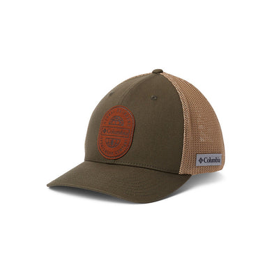 Columbia Rugged Outdoor Mesh Ball Cap Olive Green L/XL