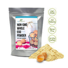Non-GMO Whole Egg Powder Kosher - Camping, Survival, Emergency, Long-Term Storage, Baking, Home-Use 1lb
