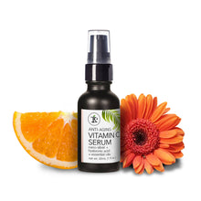 Anti-Aging Vitamin C Serum with Nano-Silver, Hyaluronic Acid & Essential Oils