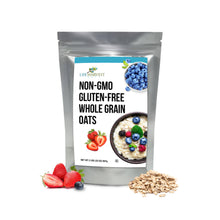 Non-GMO Old Fashioned Oats - Long Term Food Storage - Gluten Free 32oz (2 lbs)