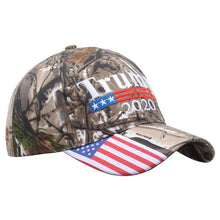 Trump 2020 ~ Flag & Camouflage <p> Embroidered Snapback