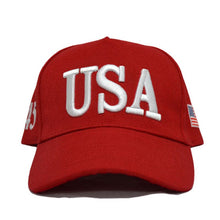 USA 45 & American Flag <p> 3D Embroidered Adjustable Snapback Trucker Hat