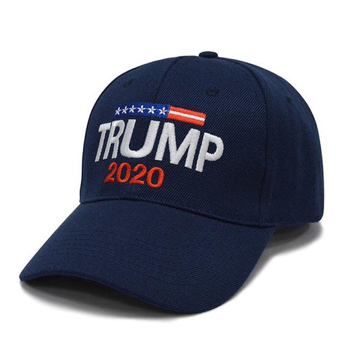 Trump 2020 ~ Make America Great Again Adjustable Cap (Navy Blue)