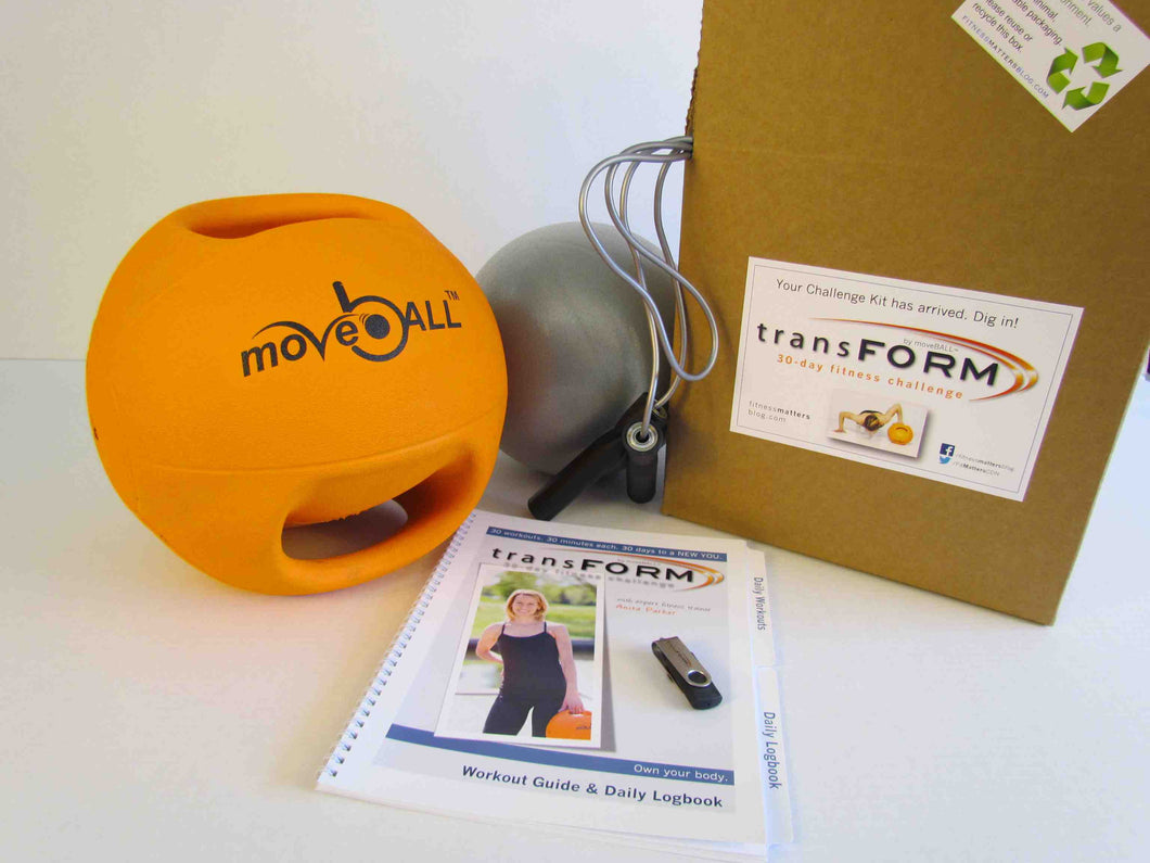 ADVANCED Transform by moveBALL™ 30-Day Challenge Kit, 6kg
