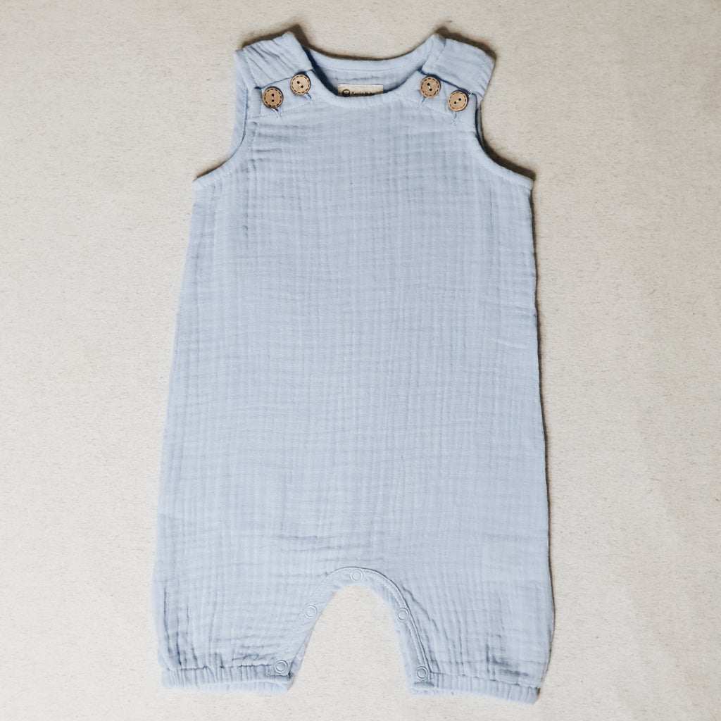 Muslin Jumpsuit in sky blue