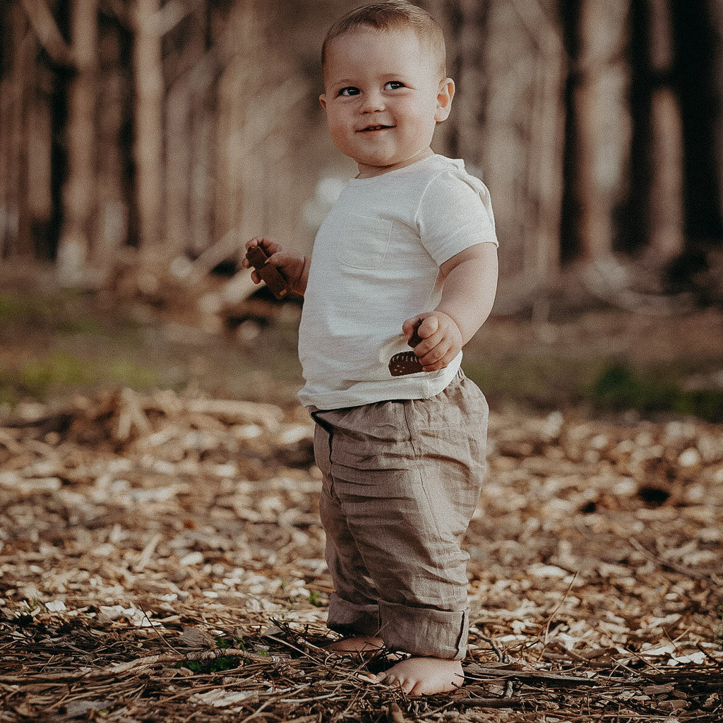 linen pants organic for babies in australia wholesale