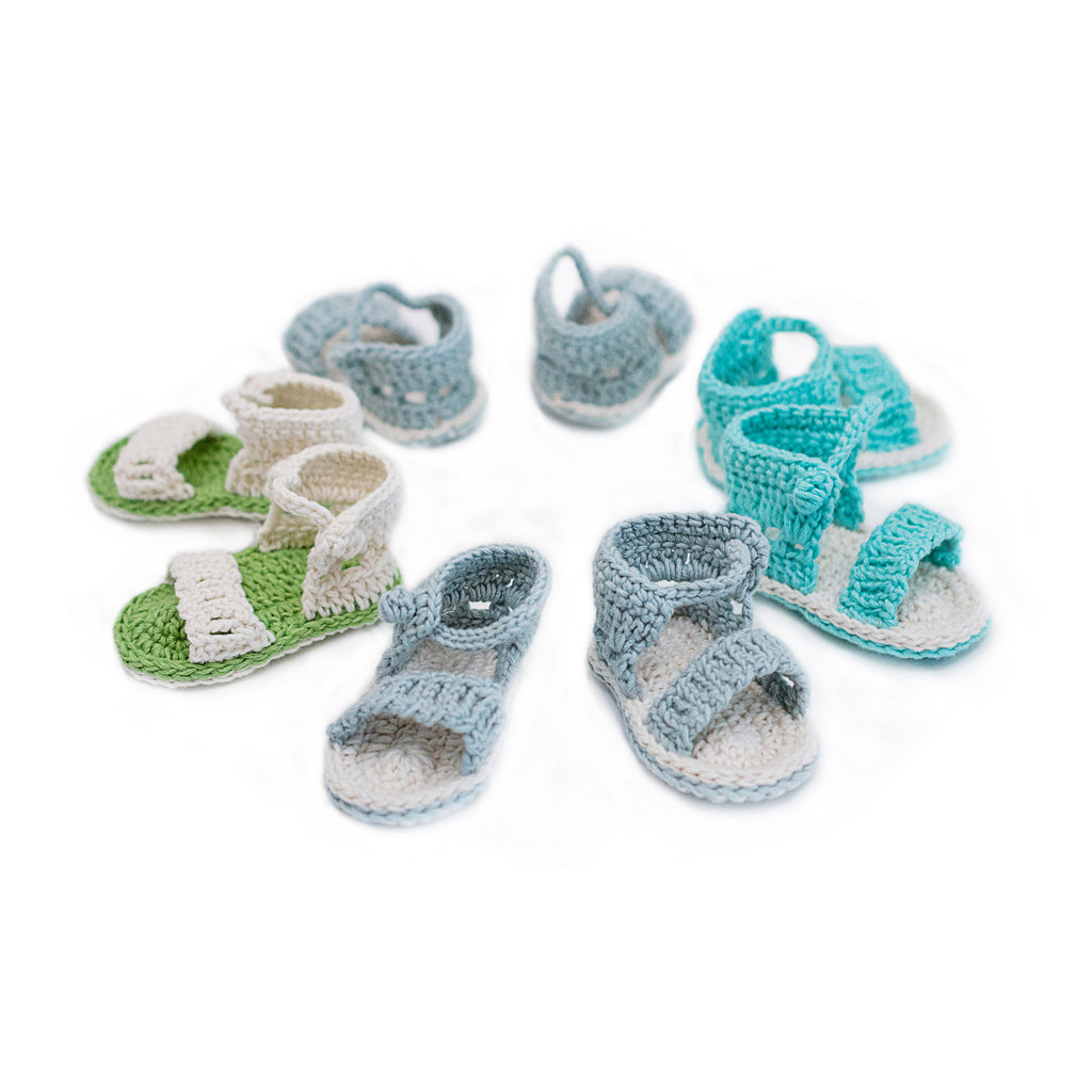 organic cotton baby sandals for girls