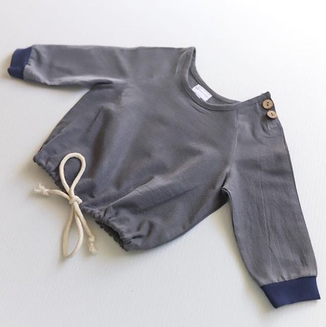 linen baby and toddler shirt