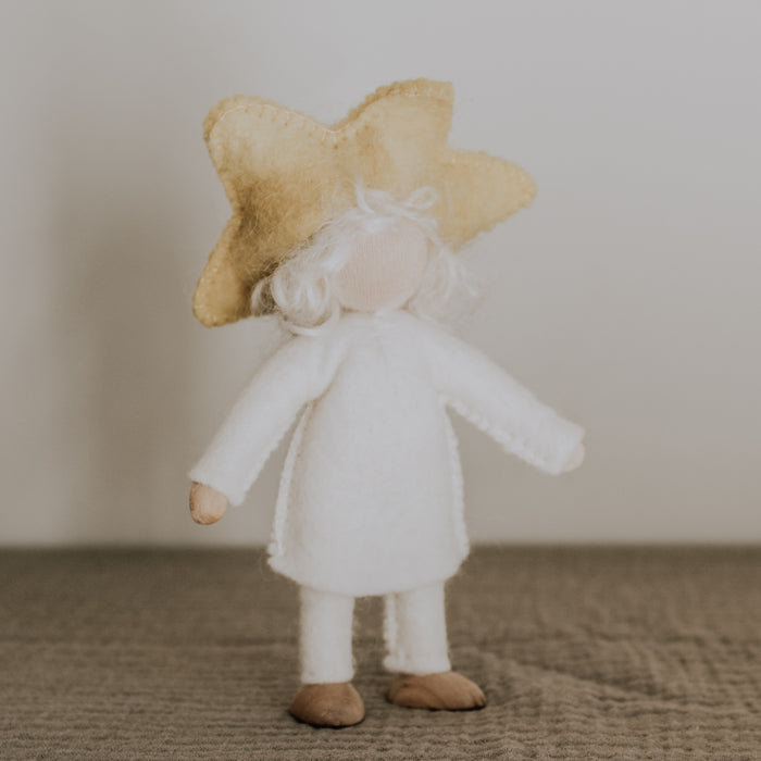 waldorf felt toy star