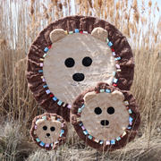 Fuzzie Dot Zymba- The Plush Lion Kids Blanket
