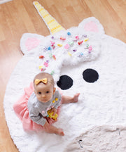 Fuzzie Dot Zella - Adorable Unicorn Blanket