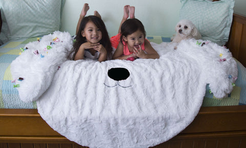 Zofie - Kids Minky Puppy Blanket