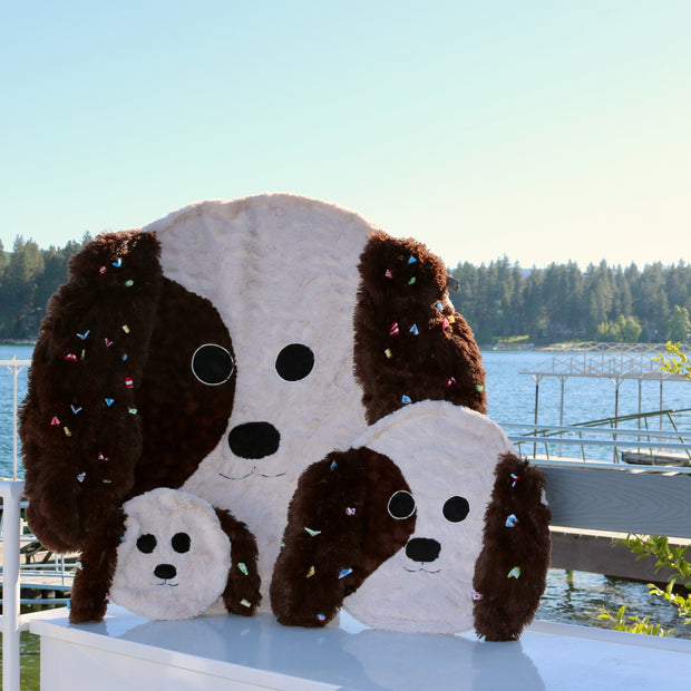 Fuzzie Dot Zoobie - The Plush Puppy Kids Blanket
