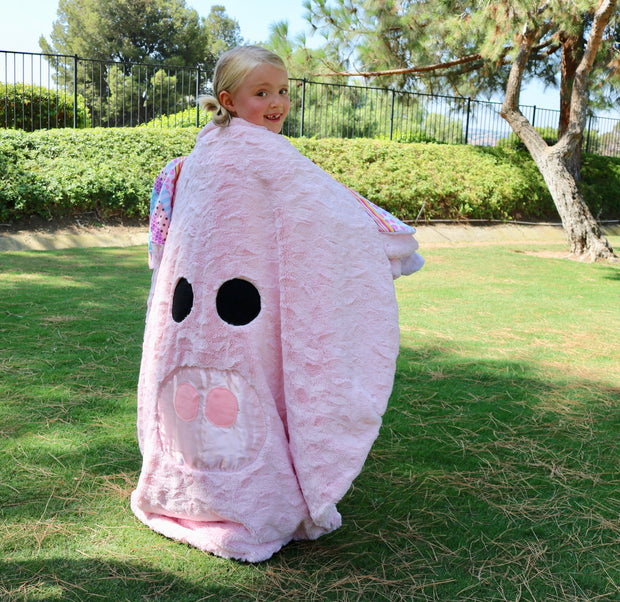 Fuzzie Dot Ziggie - Adorably Soft Minky Kids Pig Blanket