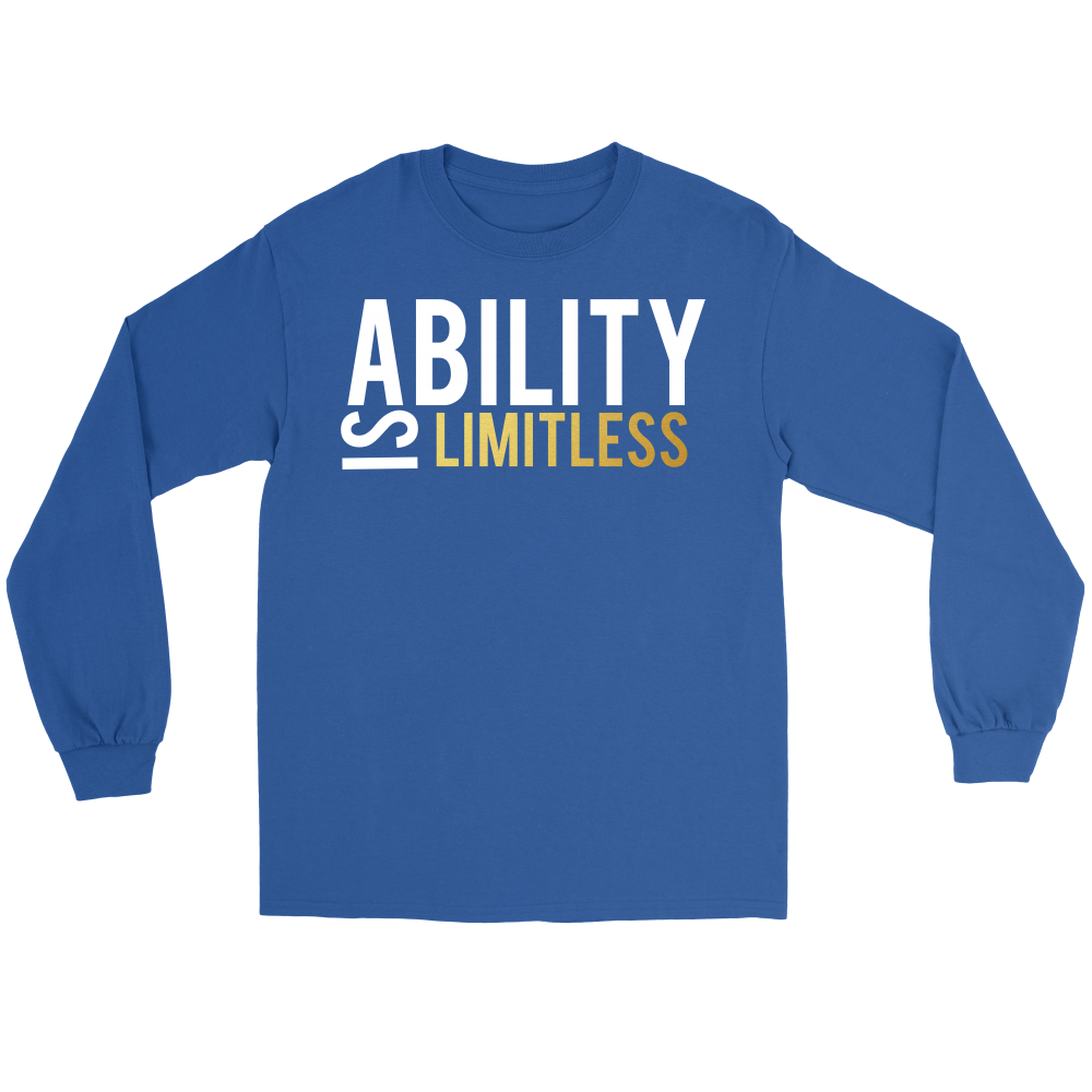 Ability is Limitless Long Sleeve