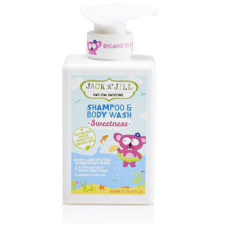 JACK N JILL Shampoo & Body Wash - Econique