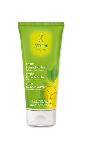 WELEDA Citrus Creamy Body Wash - Econique