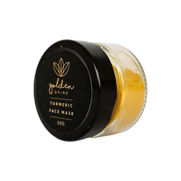 Golden Grind Miracle Turmeric Face Mask 50g - Econique