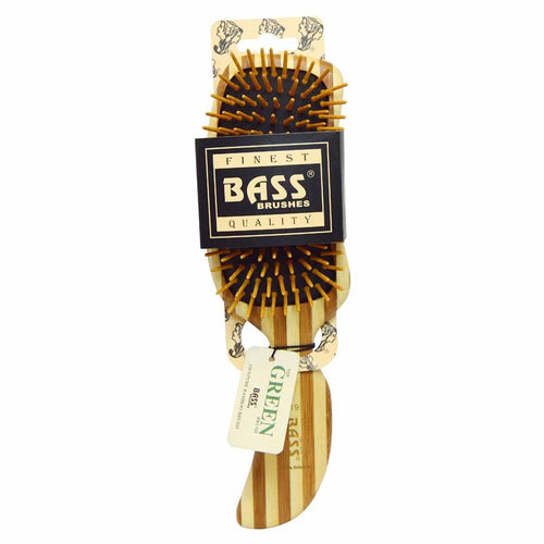 Bass Bamboo Hair Brush Semi S Shaped