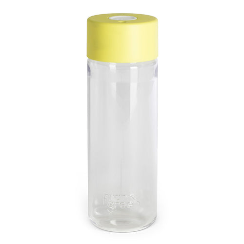 FRANK GREEN Smart Water Bottle 25oz - Pale Yellow / White - Econique