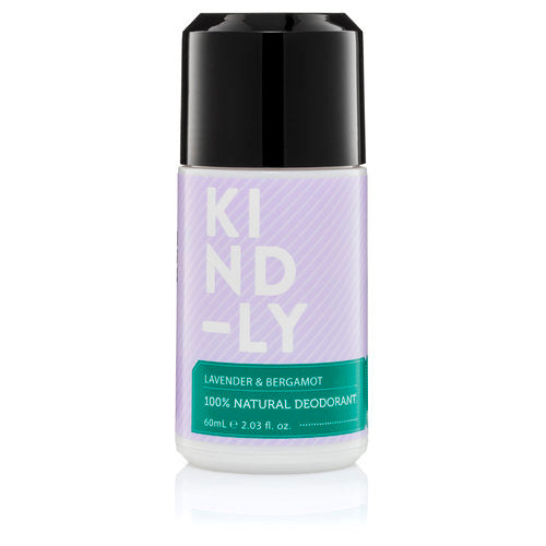 Kind-ly 100% Natural Deodorant Lavender & Bergamot 60ml - Econique