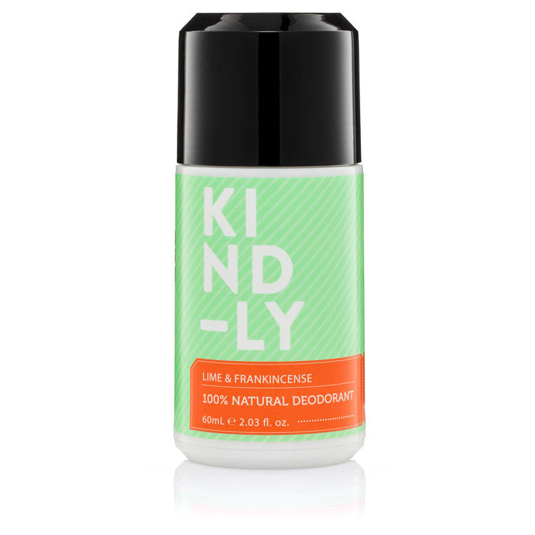 Kind-ly 100% Natural Deodorant Lime & Frankincense 60ml - Econique