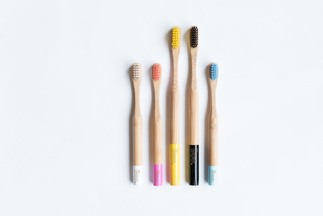 The Boo Collective Bamboo Toothbrushes - Econique