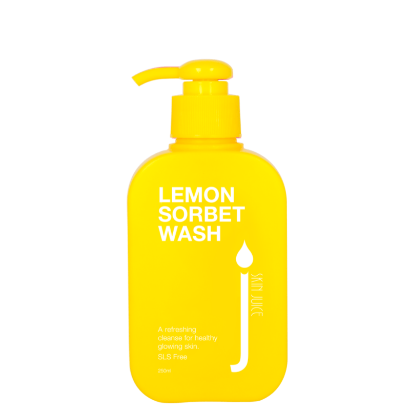 SKIN JUICE Lemon Sorbet Organic Body Wash 250ml - Econique