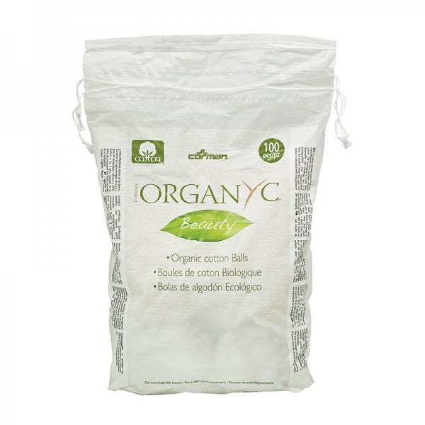 Organyc Beauty Cotton Balls 100 pieces - Econique