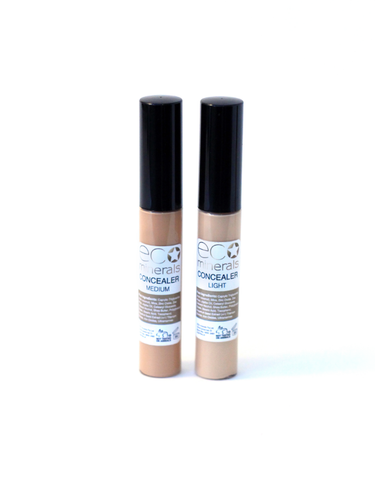 Eco Minerals Cream Concealer - Light - Econique