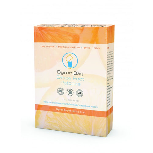 BYRON BAY DETOX Foot Patches - Econique
