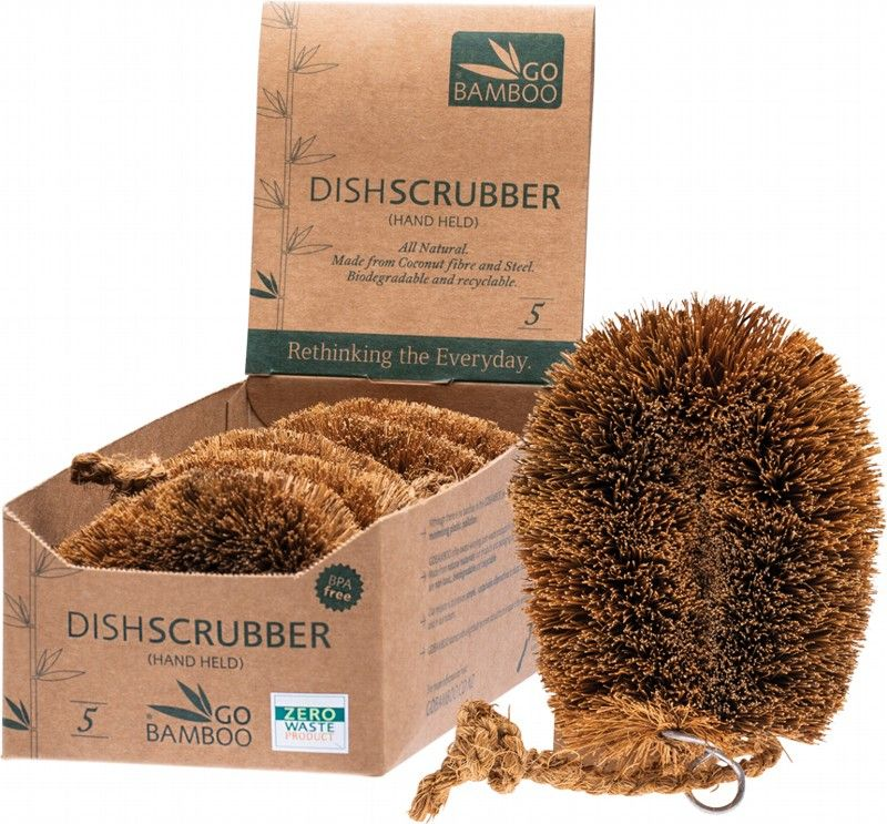 Compostable Dish Scrubber | Econique