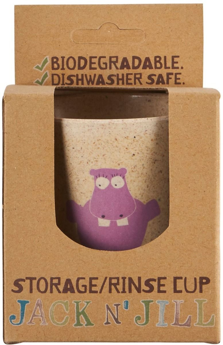 Jack N' Jill Storage Rinse Cup Hippo - Econique