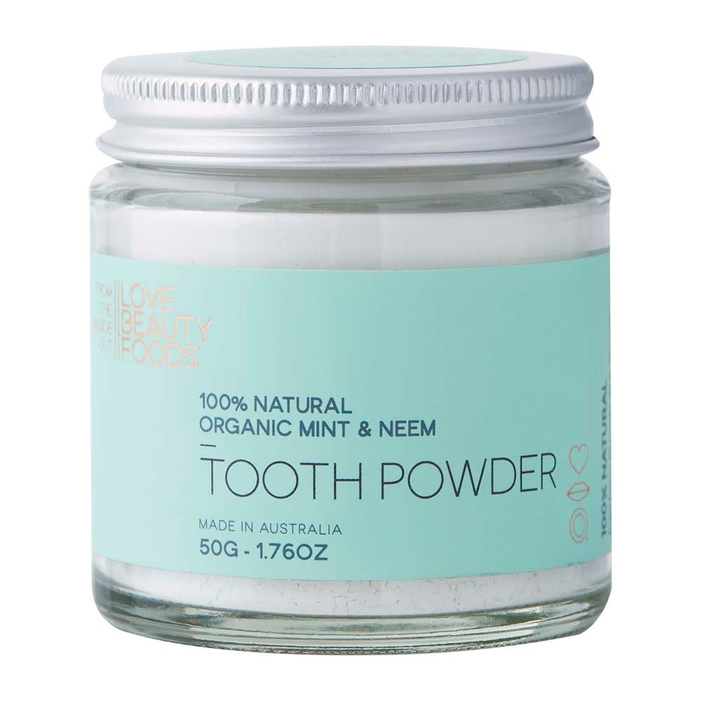 Love Beauty Foods Mint & Neem Toothpowder