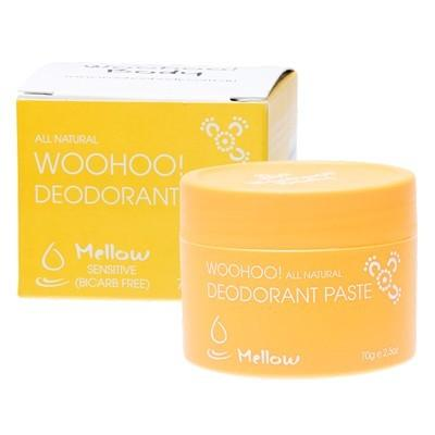 Woohoo Body Mellow Natural Deodorant Paste Sensitive Skin - Econique
