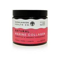 Load image into Gallery viewer, Shoalhaven Health Co Natural Marine Collagen Pomegranate | Econique