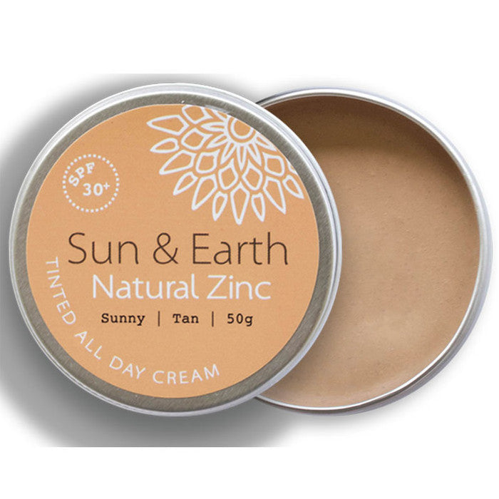 Sun & Earth All Day Tinted Cream SPF 30+ - Econique