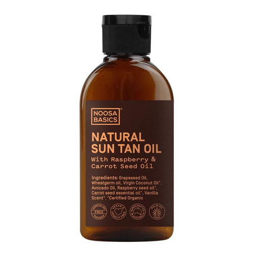 Noosa Basics Natural Sun Tan Oil 125 ml - Econique