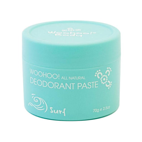 Woohoo Body Surf Unisex Deodorant Paste 70g - Econique